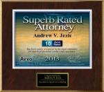 Andrew Jezic Avvo Award